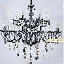 black glass chandelier salon bar black glass chandelier restaurant professional lighting head pendant crystal chandeliers large black glass chandelier
