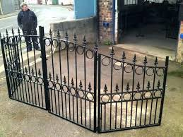 metal fence panels home depot. Home Depot Metal Fence Panels Wrought Iron Delightful  .