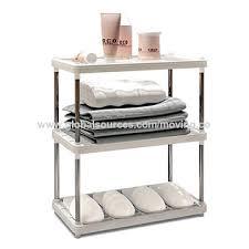 china 3 layer plastic tier rack steel shelving storage rack shelves kitchen bathroom