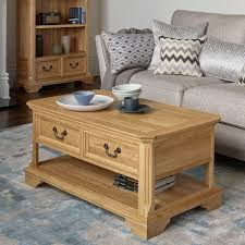 sorry your browser does not support this edinburgh natural solid oak 4 drawer coffee table