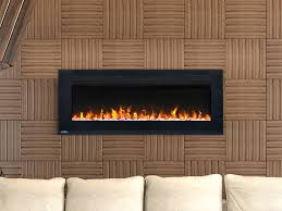 napoleon 42 inch allure wall mount electric fireplace