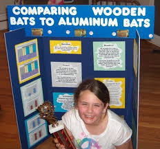 best science fair projects images school baseball bat science fair project does she look proud in this picture or what