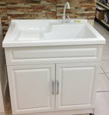 furniture laundry sink and cabinet for vanity costco room plans