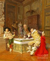 The Marriage Contract Painting By Celestial Images