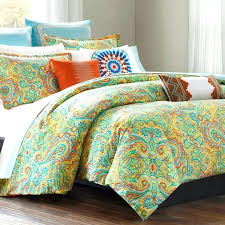 um image for ana paisley duvet cover twin grey multi beacons paisley twin xl cotton comforter