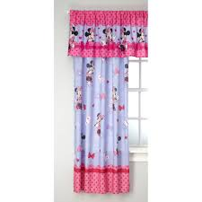 Minnie Mouse Bedroom Curtains Disney Minnie Mouse Bow Power Girls Bedroom Curtain Valance