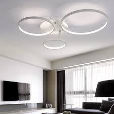 designer modern lighting. aliexpresscom buy new arrival circle rings designer modern led ceiling lights lamp for living room bedroom remote control fixtures from lighting o