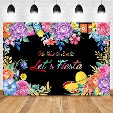 Online Shop <b>NeoBack</b> Mexican Fiesta Theme <b>Backdrop</b> Summer ...