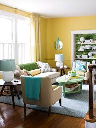 Small Picture Decorating Ideas for a Yellow Living Room Better Homes and