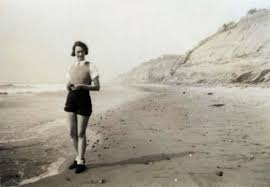 Myra Crawford at the Beach