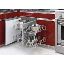 Corner Cabinet Shelving Unit RevAShelf 100 In H X 100100 In W X 100100 In D Blind Corner 24