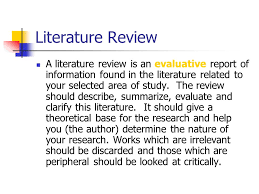 Literature Review   Background Research Material for Freight