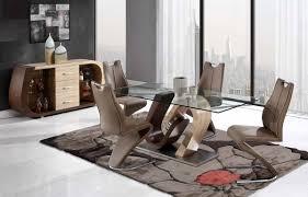 global furniture d oak walnut dining room set