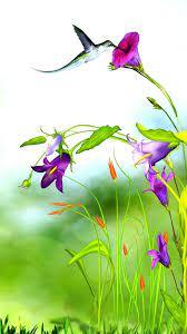 3D Flower iPhone Wallpaper HD