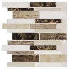 <b>Decor 5</b> Pack Peel & Stick Mosaic Tile - Stone Forest Linear : Target