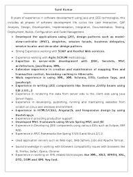 Sunil Resume 1 Doc Spring Framework Application Server