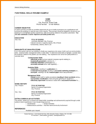 Resume Letters Skills Section Of Resume Skills Most Employers