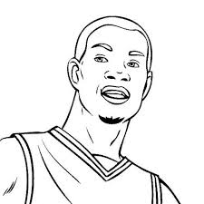 Kevin Durant Drawing At Getdrawingscom Free For Personal Use