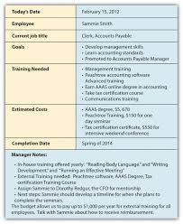 designing a training program career development programs and succession planning
