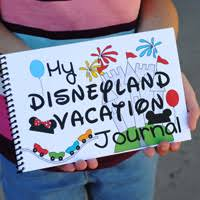 disneyland vacation journal printable