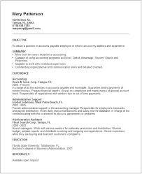 Accounts Payable Resume Objective Accounts Payable Resume Objectives Canadianlevitra Com