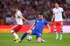 بولندا توقف انتصارات منتخب إنجلترا فى تصفيات كأس العالم بتعادل قاتل :اليوم  السابع