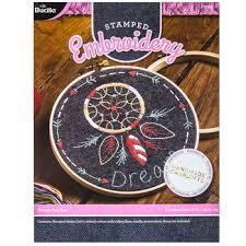 Hobby Lobby Dream Catcher Enchanting Dreamcatcher Stamped Embroidery Kit Hobby Lobby 32