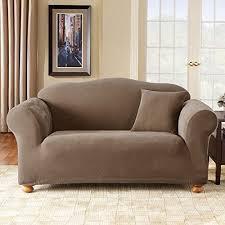 stretch pique sofa slipcover color