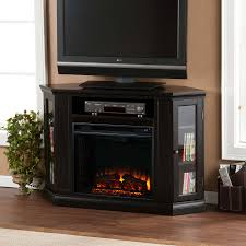 48 claremont convertible media electric fireplace black