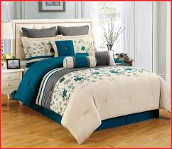 teal bedding sets king cream and comforter set size