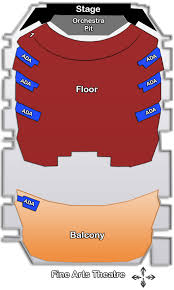 Eku Center For Arts Seating Chart 23 Problem Solving Sd Civic Theater Seating Chart