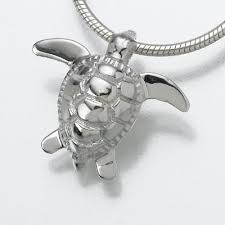 sea turtle jewelry for ashes