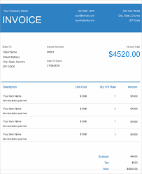 Electrical Invoice Template Free 100 Electrical Invoice Templates Free Sample Example Format 14