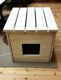 cat litter box cover house cabinet pet for ideas 3 wooden furniture