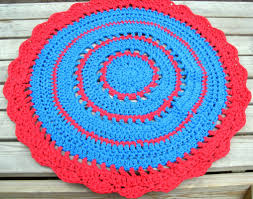 Thick Bathroom Rugs Small Round Bathroom Rugs Perfect Crocheted Round Bath Rug Very