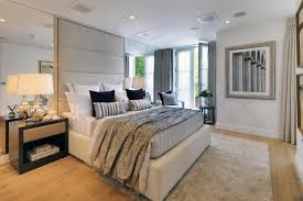 townhouse contemporary furniture. Luxury Contemporary Master Bedroom With Balcony Townhouse Furniture