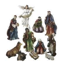 outdoor nativity sets hobby lobby resin nativity set of pieces homelogic lskysd