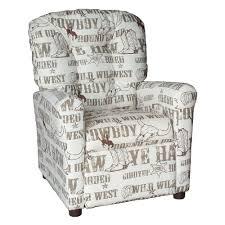 brazil furniture 4 on back childrens recliner cowboy kelp