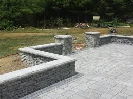 walled patio in berkley ma