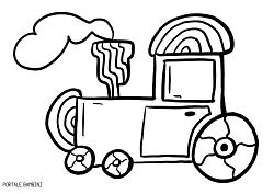 Disegni Di Treni Da Colorare 1 Disegni Di Macchine Da Stampare E