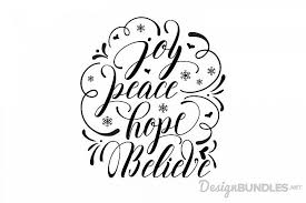 A lot or other cutting softwares compatible with cricut design space and can do this within 24 hours, i'd like for you to make me a rhinestone template ss10 size rhinestones svg file and png file of the same image using the images/screenshots i got. Joy Peace Hope Believe Font Bundles Crafters Svgs Free Design Free Design Resources Design Freebie