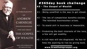 in his essay the gospel of wealth andrew carnegie argued that  gospel of wealth essay anti essays