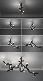 bruno fosi s modular led ceiling lamp