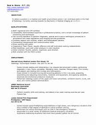 Emt Basic Resume Examples Best Of 24 Med Tech Resume