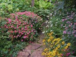Partial Shade Flower Garden Design Partial Shade Garden Design Garden Design Ideas