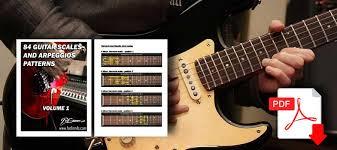 Guitar Arpeggios Chart Pdf Free Guitar Scales Pdf 84 Scale And Arpeggios Chart