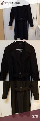Utex Design Long Coat Never Worn Trench Coat With Wool Lining Never Worn Utex