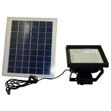 solar super bright black 108 led outdoor flood light with timer