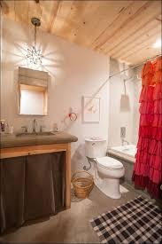 bathrooms wonderful sink drapes vintage farmhouse shower curtain