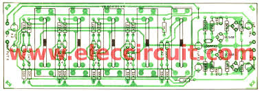 graphic equalizer circuit using transistors component layout 5 channel graphic equalizer by bc548